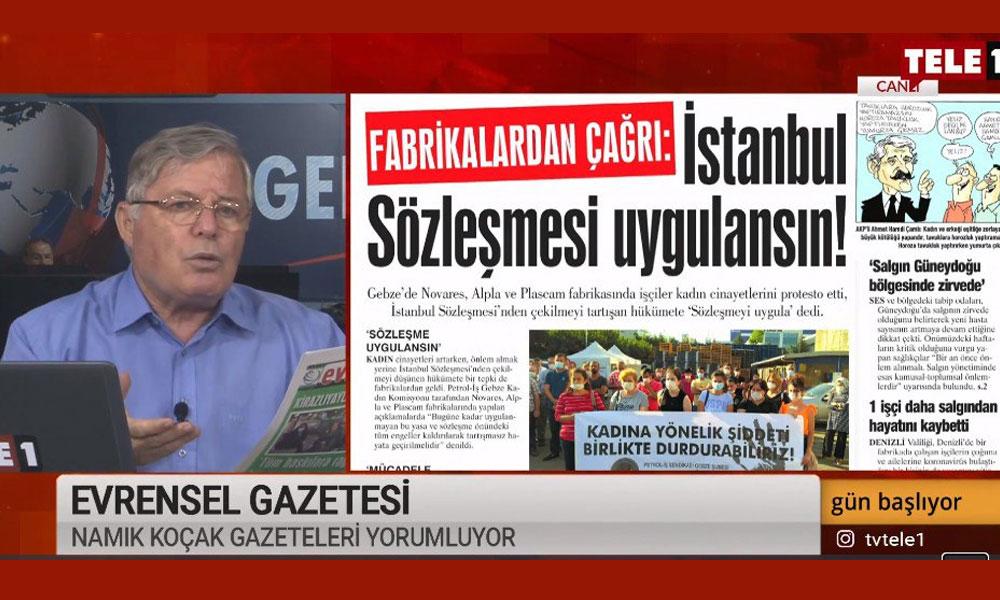 Namık Koçak: İstanbul Sözleşmesi'ni uygularsanız yaşatır
