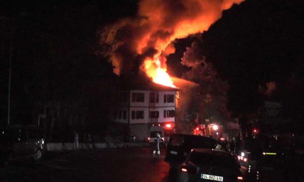 Safranbolu'da iki tarihi konakta yangın