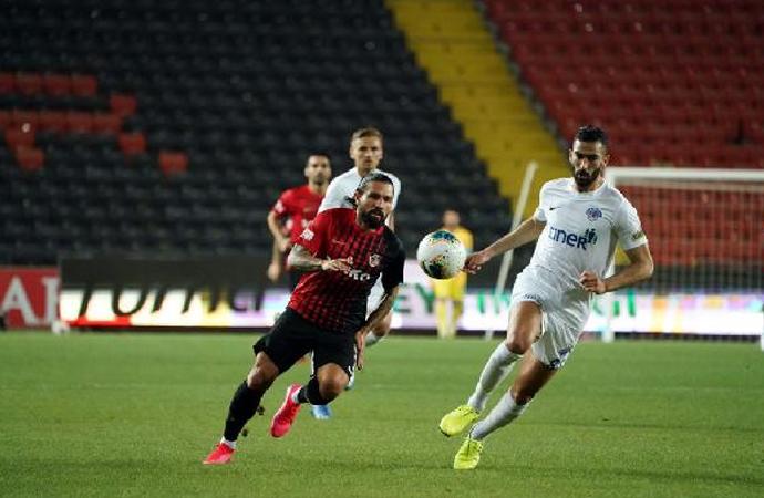 Gaziantep FK, Kasımpaşa karşılaşmasında kazanan yok