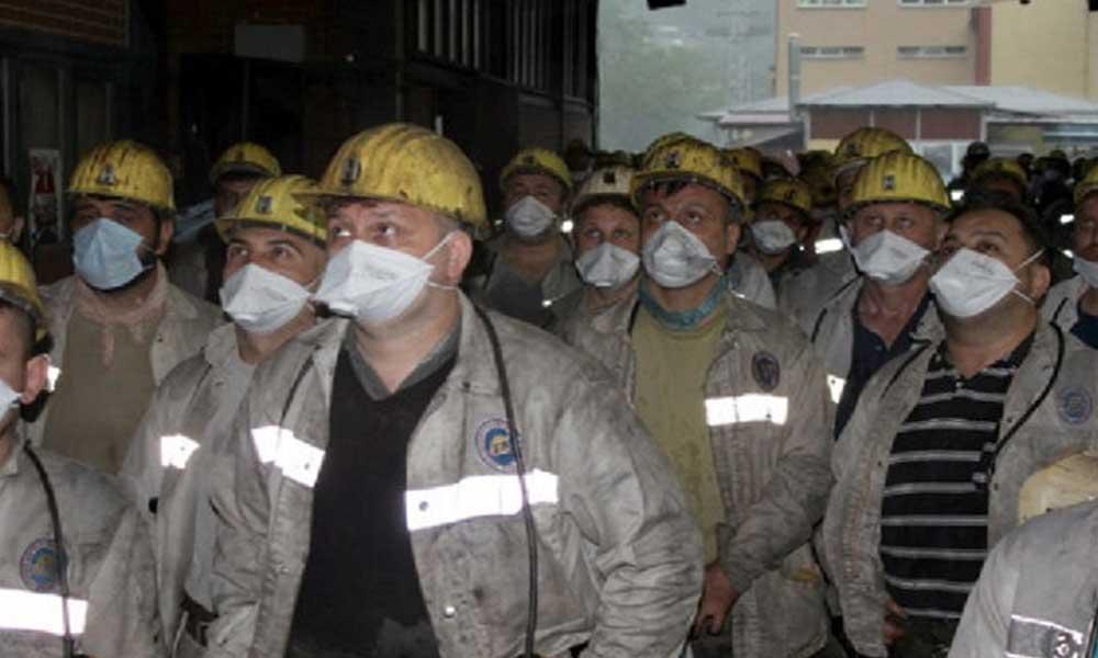 Maden emekçileri tek ağız! Kıdeme dokunursan, genel grev yaparız