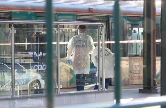 Marmaray'da intihar!