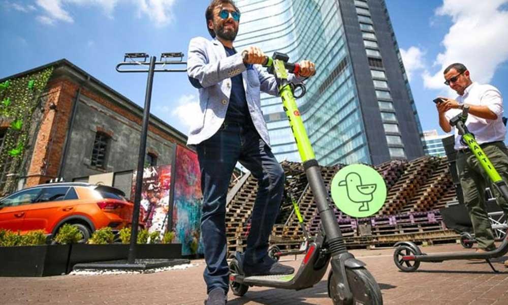 Elektrikli 'scooter'a günlük harç ve yaş yasağı geldi