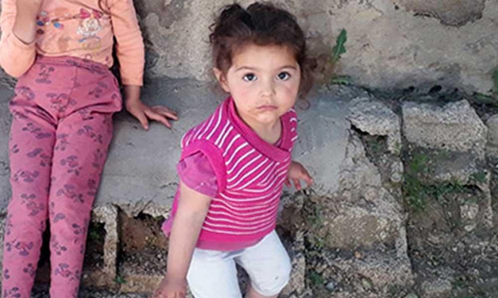 Evinin önünde oynarken kaybolan 2 yaşındaki Melek'ten acı haber