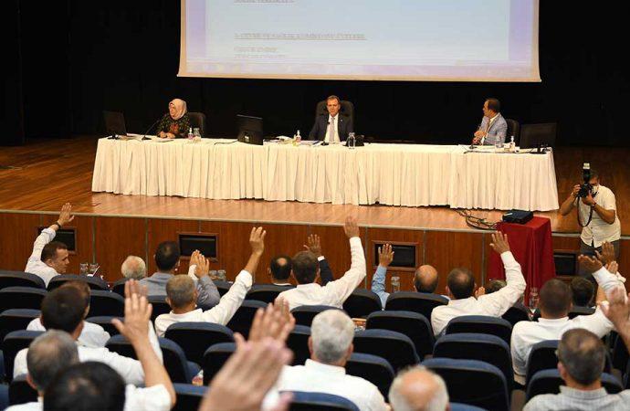 Mersin Büyükşehir Belediyesi Temmuz ayı meclis toplantısı ikinci birleşimi yapıldı