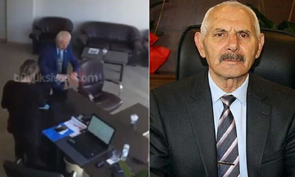 Cumhur İttfakı'nı derinden sarsan görüntü! Erdoğan'ın fotoğrafını yırttı