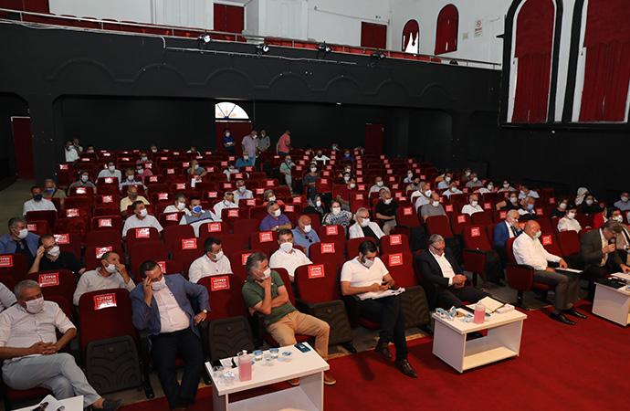 Mudanya'da pandemi sonrası ilk meclis