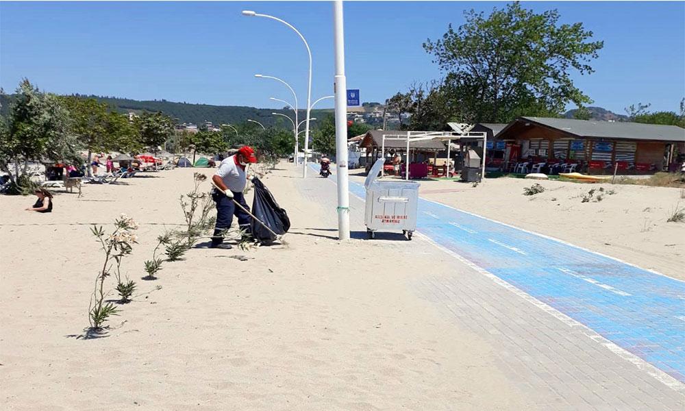 Mudanya Belediyesi'nden yaz temizliği seferberliği