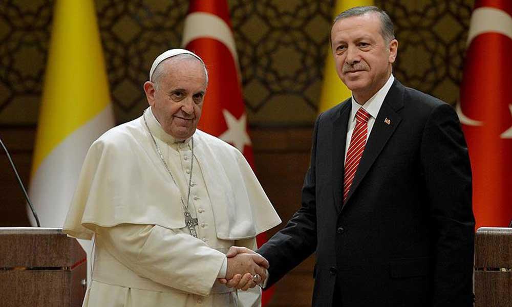 Papa'dan flaş Ayasofya açıklaması