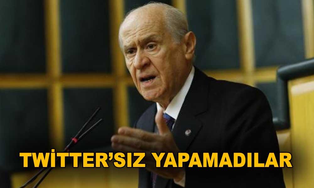 MHP'li vekiller Bahçeli'nin Twitter yasağını böyle deldi