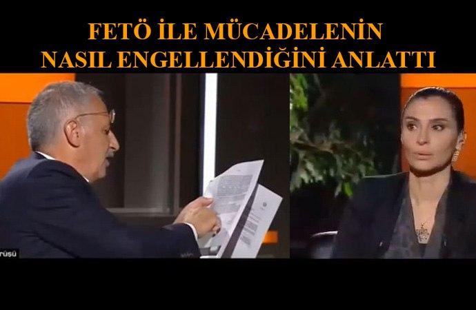 Saygı Öztürk'ün FETÖ belgeleri Hande Fırat'ın ağzını açık bıraktı