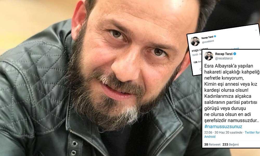Kaftancıoğlu'na küfür eden AKP'li oyuncunun mesajı tepki çekti