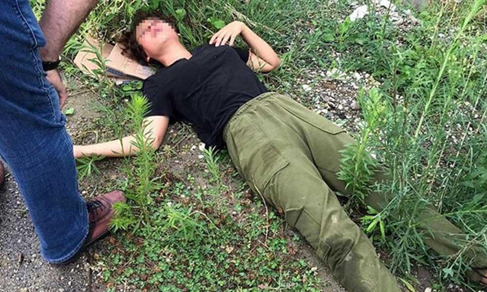Genç bir kadın darp edildikten sonra yol kenarına bırakıldı