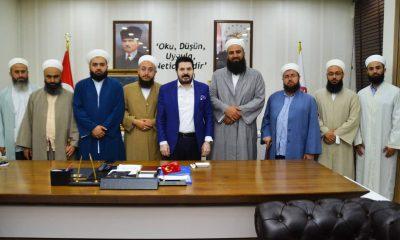 AKP'li Ağrı Belediyesi'ne 'cemaat' çıkarması! Ziyarette dikkat çeken ayrıntı