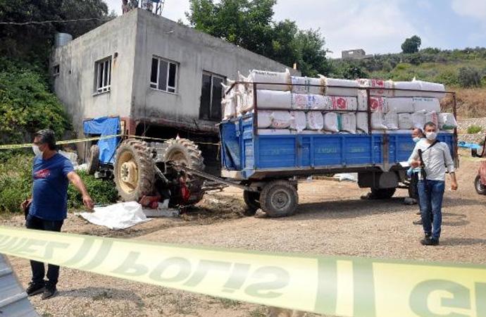 Osmaniye'de traktör devrildi: 1 ölü