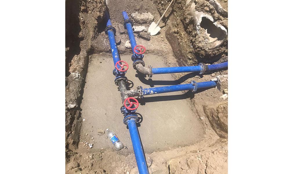 Büyükşehir Aladağ'ın su sorununu çözüyor