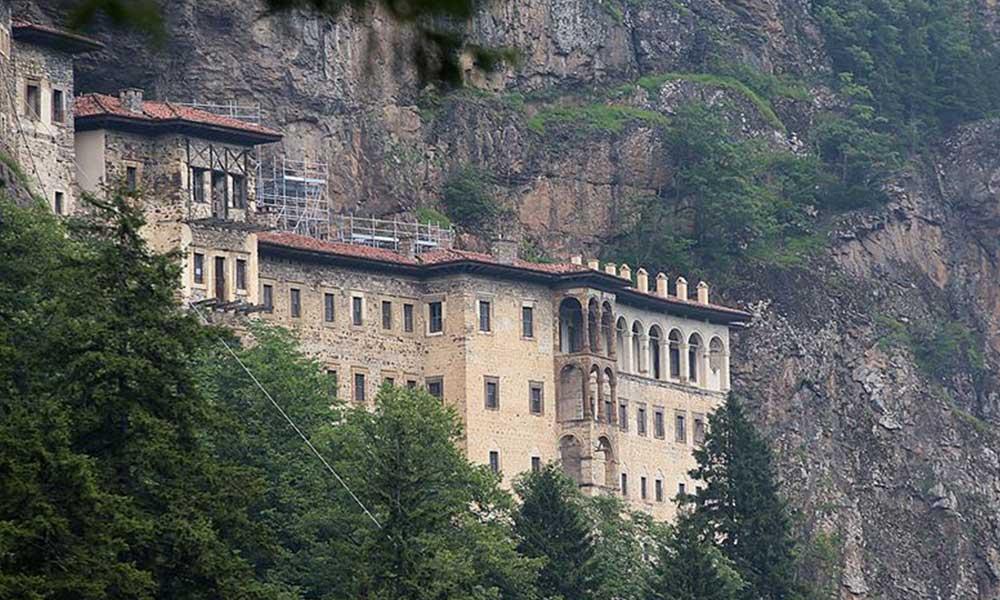 Sümela Manastırı'nı ibadete açıldı