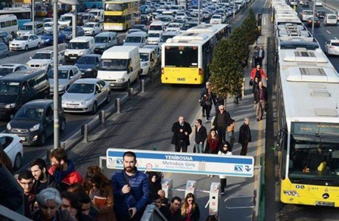 İstanbul'da toplu taşıma kullanımı yüzde 248,5 arttı