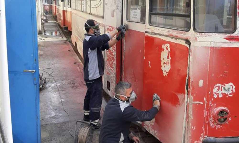 Moda tramvayı yenileniyor