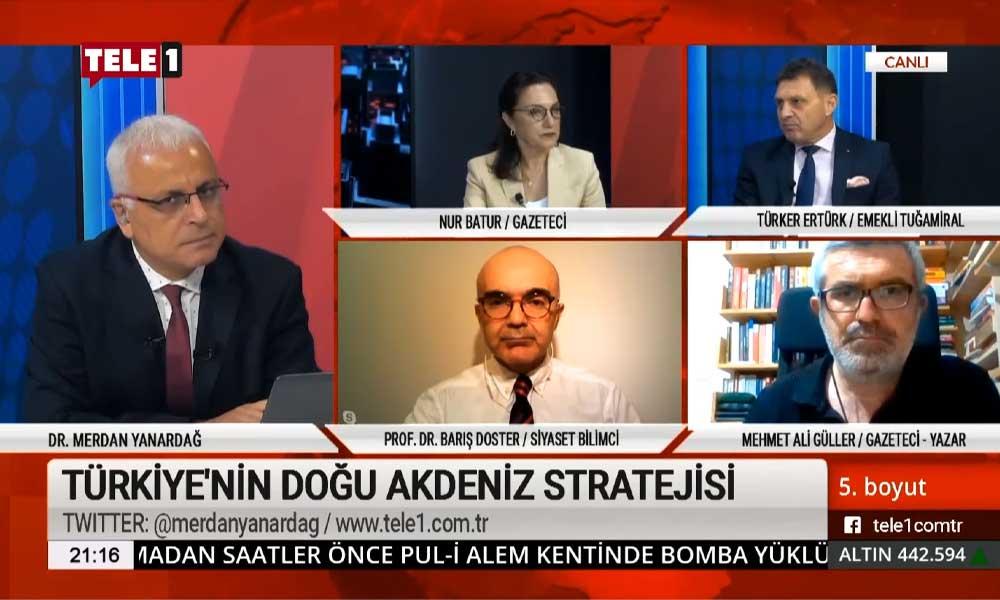 Türker Ertürk: İktidar, Doğu Akdeniz'de Türkiye'nin çıkarlarıyla zıt şeyler yapıyor