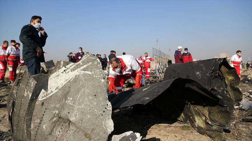 İran, düşürülen Ukrayna'ya ait yolcu uçağı için tazminat ödemeyi kabul etti