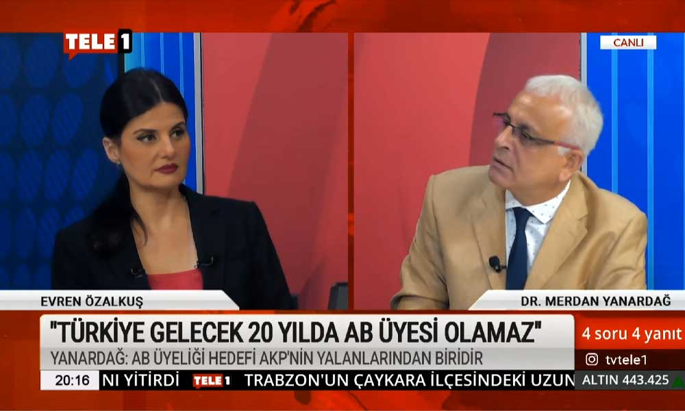 Merdan Yanardağ: AKP, AB'nin demokratikleşme sopasıyla gerçek demokrat muhalefeti ezdi