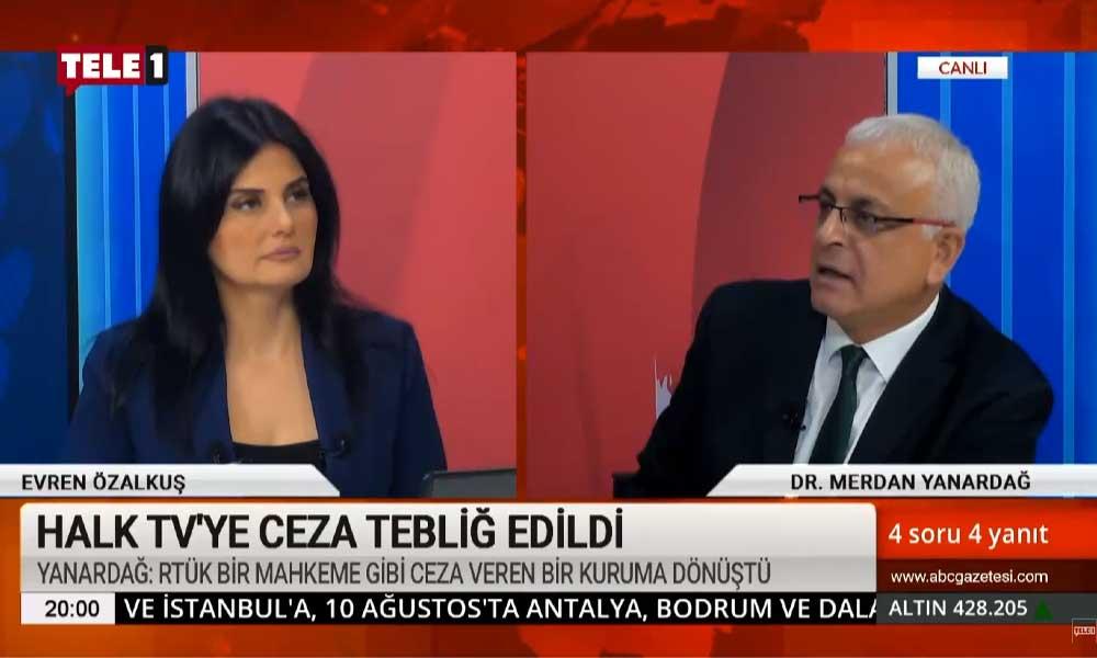 Merdan Yanardağ: Diyanet İşleri Başkanı Erbaş, Ahmet Hakan'a gönderdiği mektupta kaytarıyor