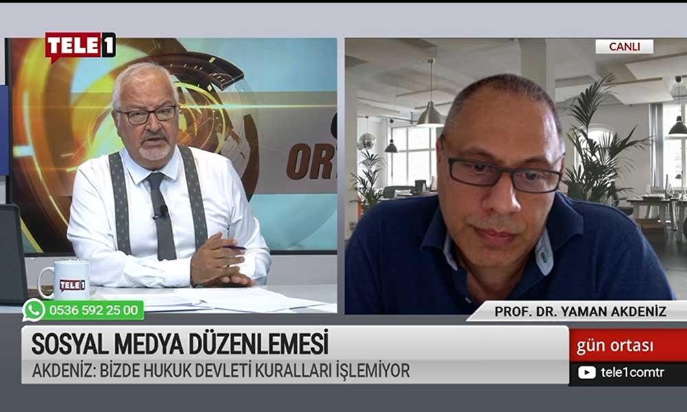 Prof. Akdeniz: Erişim engellemesi getirilen haberlerin kaldırılması da otosansürdür