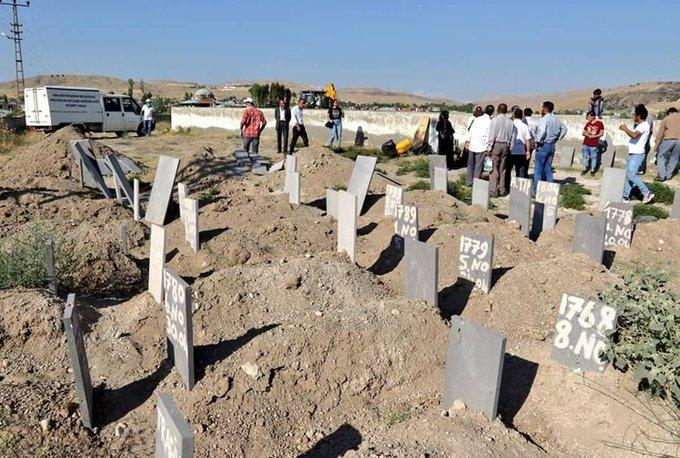 Van'daki tekne faciasında yeni gelişme: Mezarlarından çıkartılıp ülkelerine gönderildiler