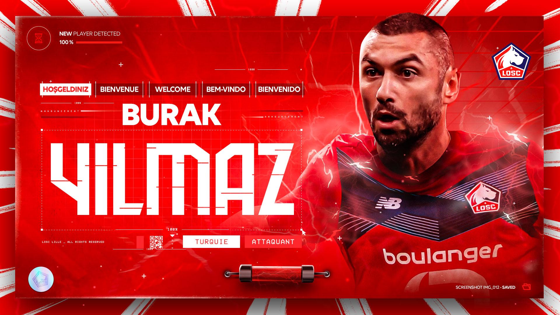 Lille, Burak Yılmaz transferini açıkladı!