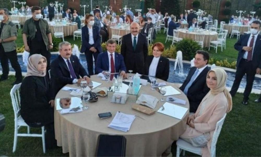 Akşener, Davutoğlu, Babacan ve Destici'yi bir araya getiren düğün