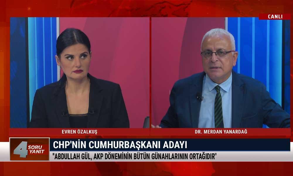 Merdan Yanardağ: Erdoğan 7 ay önceki açıklamadan medet umuyor