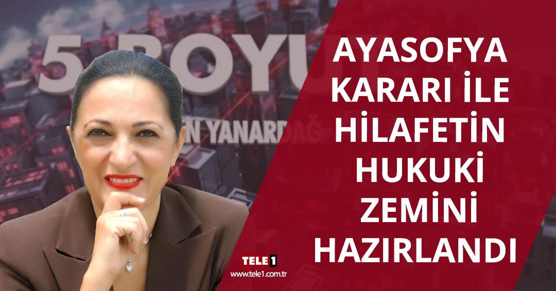 AKP Ayasofya kararını, iç politikada çok sıkıştığı için aldı – 5.BOYUT