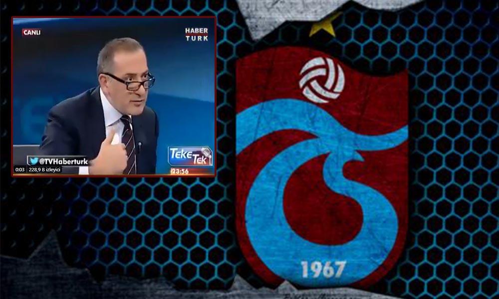 Trabzonspor'dan çok sert açıklama: 'Turgay Ciner'in sahibi olduğu Fatih Altaylı hakkında hukuki işlemlere başladık'