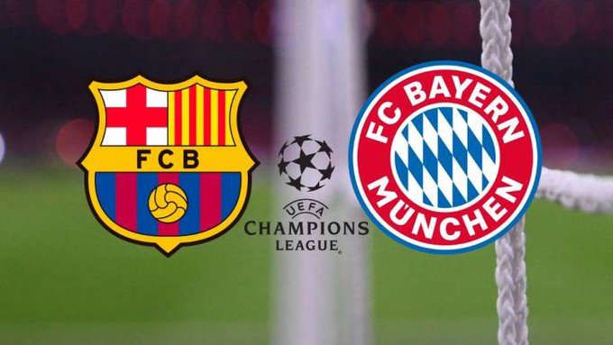 Şampiyonlar Liginde tarihi gece! Bayern Münih 8 golle yarı finalde