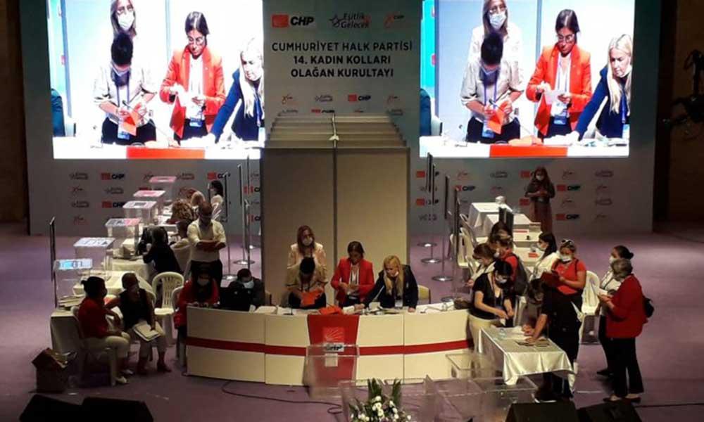 CHP Kadın Kolları'nın yeni Genel Başkanı Aylin Nazlıaka oldu