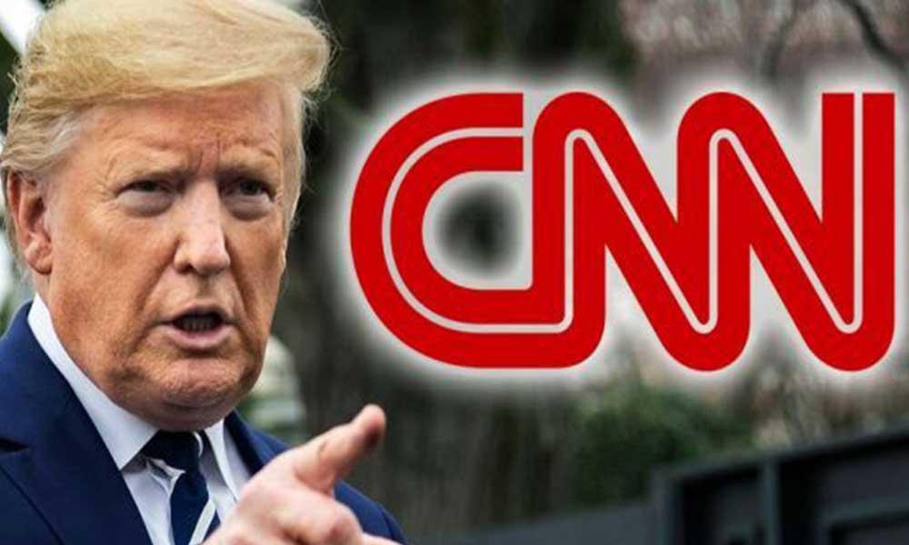 Donald Trump ile CNN arasında 'hayal ürünü' tartışması