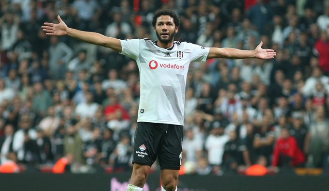 Mohamed Elneny, Beşiktaş'a veda etti