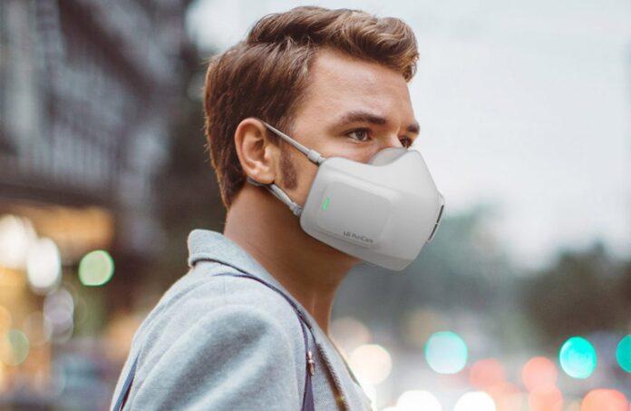 LG PuriCare Wearable Air Purifier yüzde 100 koruma sağlayacak