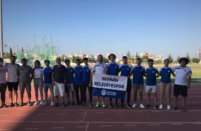 Seyhan Belediyesporlu atletler şampiyonaya damga vurdu