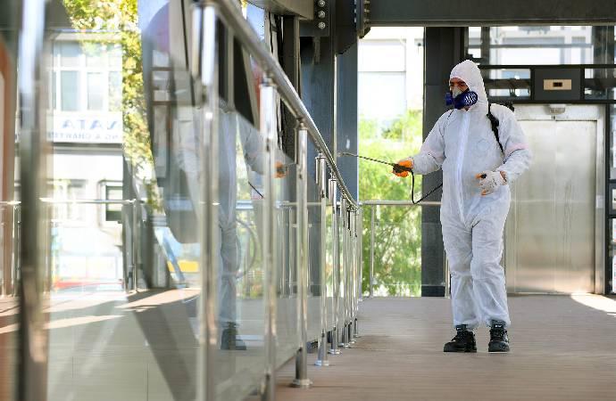 Mersin Büyükşehir Belediyesi'nden dezenfeksiyon çalışmaları
