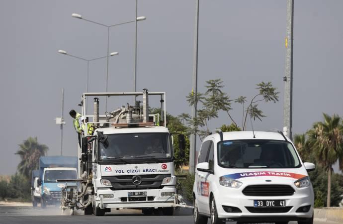 Büyükşehir, Mersin trafiğini iyileştirmeye devam ediyor