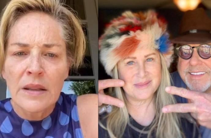 ABD'li ünlü oyuncu Sharon Stone sitem etti: Sizlerden biri bunu yaptı