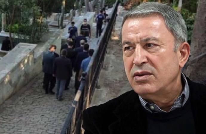'Hulusi Akar Ayasofya'dan Mirzabeyoğlu'na gitti' haberine erişim engeli! Gerekçe başka