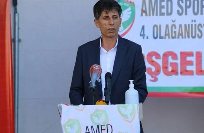 Amedspor'un yeni başkanı belli oldu