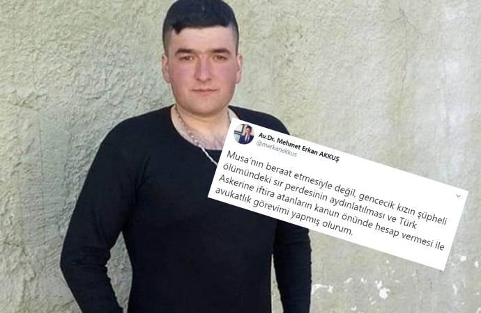 Tecavüzden yargılanan uzman çavuş Musa Orhan'ın avukatından tepki çeken paylaşım