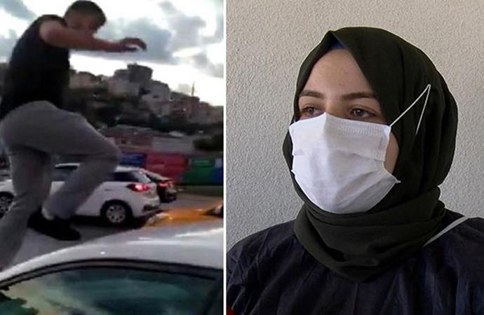 Trafikte saldırıya uğrayan kadın doktor yaşadıklarını anlattı