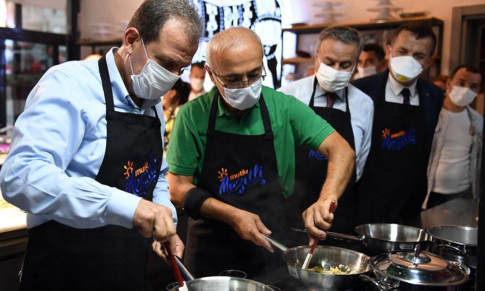 Başkan Seçer, TİRAT Mutfak Atölyesi'nin açılışına katıldı
