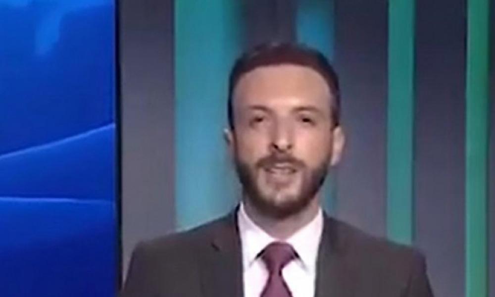 Lübnanlı spiker canlı yayında 'sizden tiksiniyorum' diyerek istifa etti!