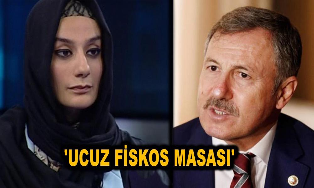 Esra Elönü'den eski AKP'li Özdağ'a sert tepki: Kes sesini