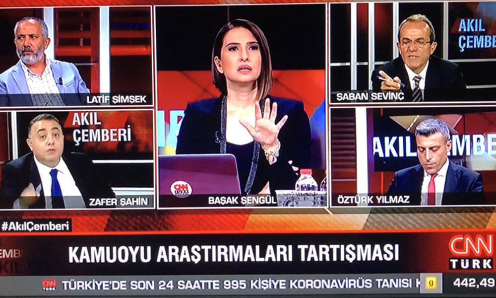 CNN Türk'te anket kavgası! AKP'nin oy oranı düşük çıkınca ortalık karıştı